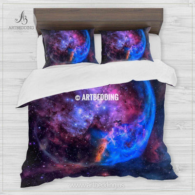 The Eagle Nebula, the Pillars of Creation bedding, Abstract space Bedding set, Galaxy print Duvet Cover, 3D galaxy bedding Bedding set