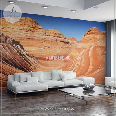 Vermilion Cliffs National Monument Wall Mural, Self Adhesive Peel & Stick wall mural wall mural