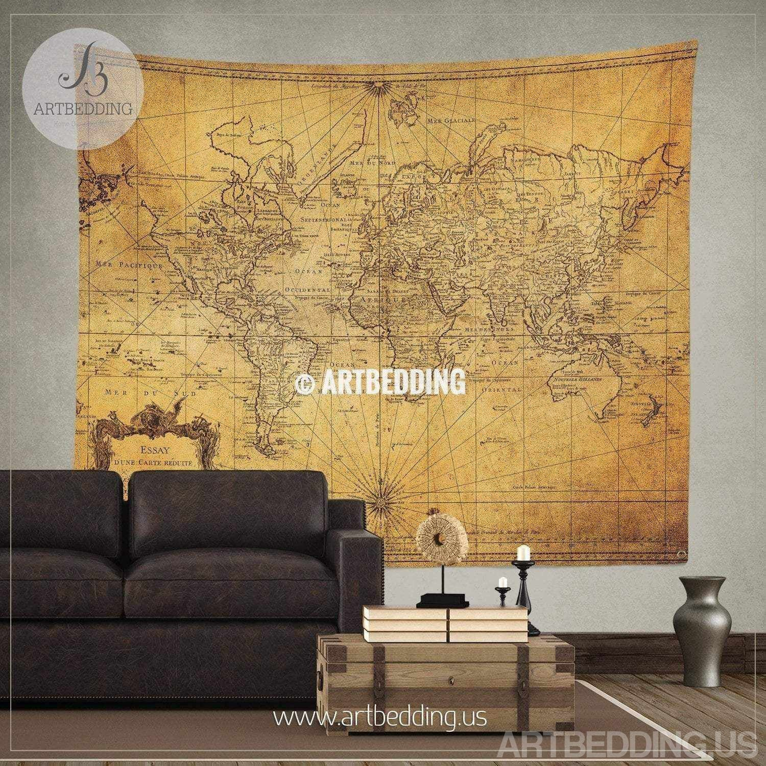 Vintage world map wall tapestry, Steampunk ancient world map wall hanging, on world map flooring, world map wall mural, world map lanterns, world map dining room, world map stationery, world map decorative box, world map wall office, world map pillows, world map comforter set, world map bookends, world map rings, world map games, world map wall decal, world map wall cling, world map vases, world map mirrors, world map wall paint, world map vintage, world map floral, world map apparel,
