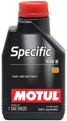 MOTUL OEM SPECIFIC ENGINE OIL; FORD M2C 948B, JAGUAR STJLR.03.5004