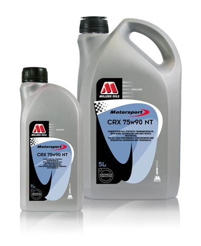 Millers Oils CRX 75w90 NT Transmission Oil