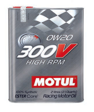 MOTUL 300V HIGH RPM ENGINE OIL