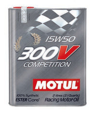 MOTUL 300V COMPETITION ENGINE OIL 15w50