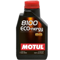 MOTUL 8100 ECO-NERGY ENGINE OIL 5w30, 0w30