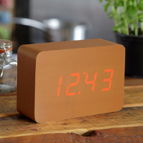 BRICK COPPER CLICK CLOCK