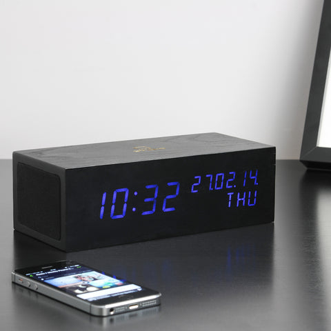 Music Click Clock / Blue LED