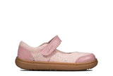 Clarks FlashBright T Dusty Pink Lea