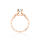 Tacori Rose Gold Solitaire Engagement Ring