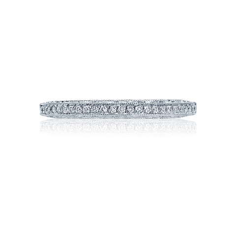 Tacori Crescent Pave Diamond Wedding Band Style 2616B