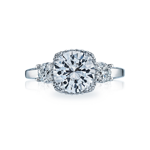 Tacori Diamond Halo Engagement Ring (2623RD)
