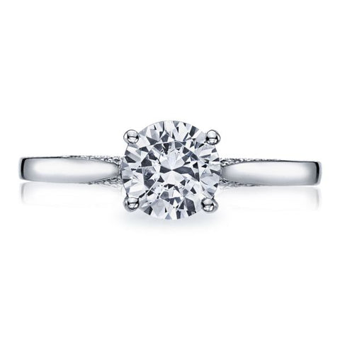 Tacori 2638 WITH 0.70ct GIA Diamond in 18ct white gold