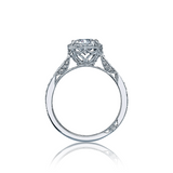 Tacori Pave Diamond Halo Engagement Ring (2639RDP)