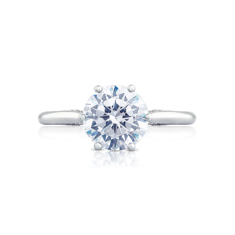 Tacori Round engagement ring