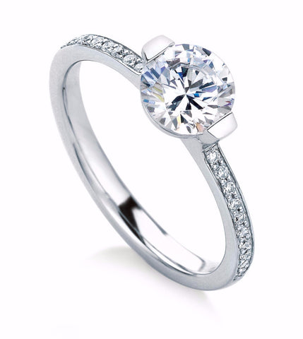MaeVona Cava - Diamond Engagement Ring.
