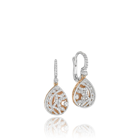 Tacori Champagne Sunset drop earrings (Tacori-624)