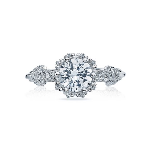 Tacori Diamond Halo Engagement Ring (HT2299)