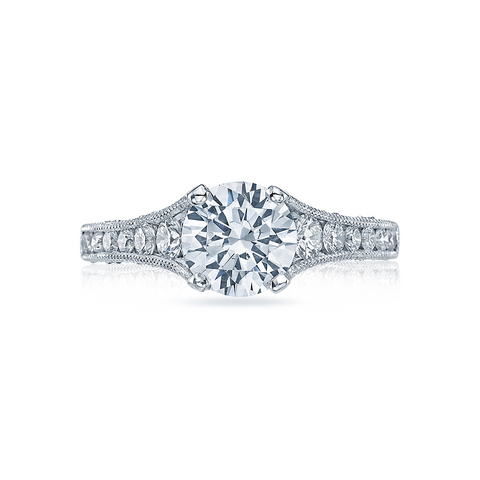 Tacori Channel Set & Diamond Crescents (HT251061/2X)