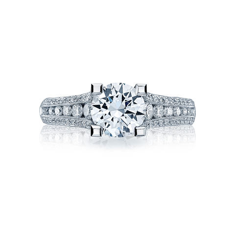 Tacori Pave Diamond Engagement Ring (HT2513RD)