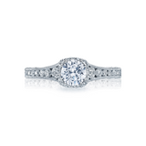 Tacori Halo Engagement Ring (HT2515RD)