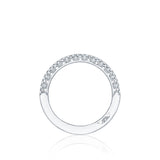 HT2545B1/2 Petite Crescent Diamond Wedding Band, Tacori Wedding Bands