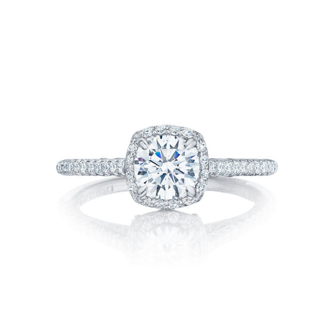 Tacori Halo Engagement Ring (HT25471.5CU)