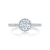 Tacori Diamond Halo Engagement Ring (HT25471.5RD)