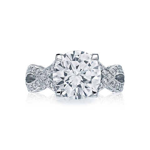 Tacori Pave Diamond Engagement Ring (HT2602RD)