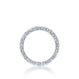 Platinum Diamond Wedding Band, Tacori HT2607B, RoyalT Collection
