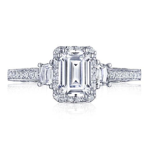 Tacori platinum engagement 2662EC
