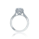 Tacori 2620RDP in platinum with 0.50ct GIA diamond