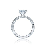 Tacori Pave Diamond Engagement Ring (HT2545PR)
