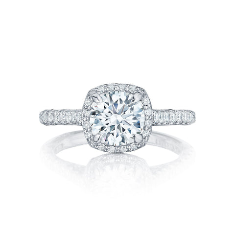 Tacori Halo Engagement Ring (HT2547CU)