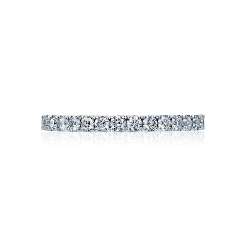 French Set Diamond Wedding Band, Tacori Style 33-2