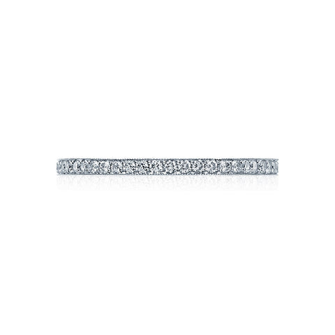 Tacori 41-1.5ET - Pave Diamond Eternity Ring, Classic Crescent Collection