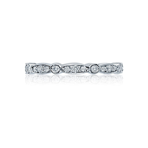 Tacori 47-2ET Sculpted Crescent Diamond Wedding Band