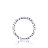 Hand Engraved Eternity Ring, Tacori Style 47-2ET, Diamond Eternity Ring