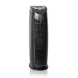 Alen T500 tower HEPA air purifier in black