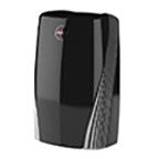 Black Vornado PCO500 HEPA air purifier destroys contaminants, viruses, and bacteria