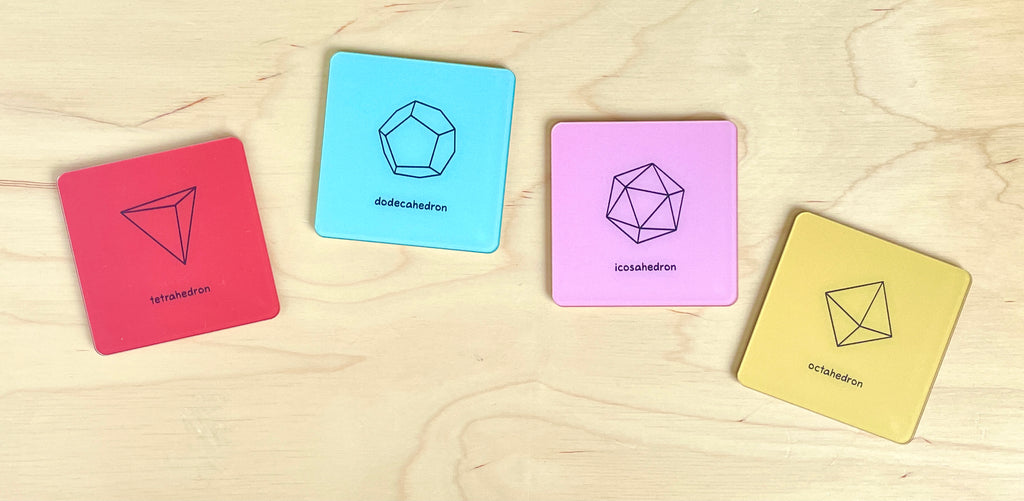 Geometric Shapes Coasters