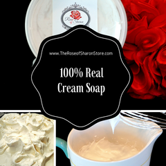 100% Real Cream Soap