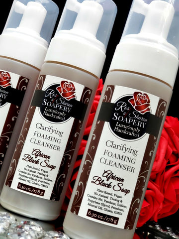 African Black Soap Clarifying Foaming Cleanser