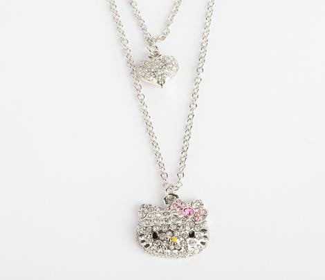 Double Charm Necklace