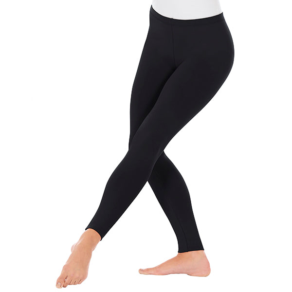 Womens Ankle Leggings with Cotton Lycra - 10333