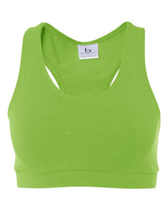 Ladies' Spiritwear Athletic Sports Bra-Lime