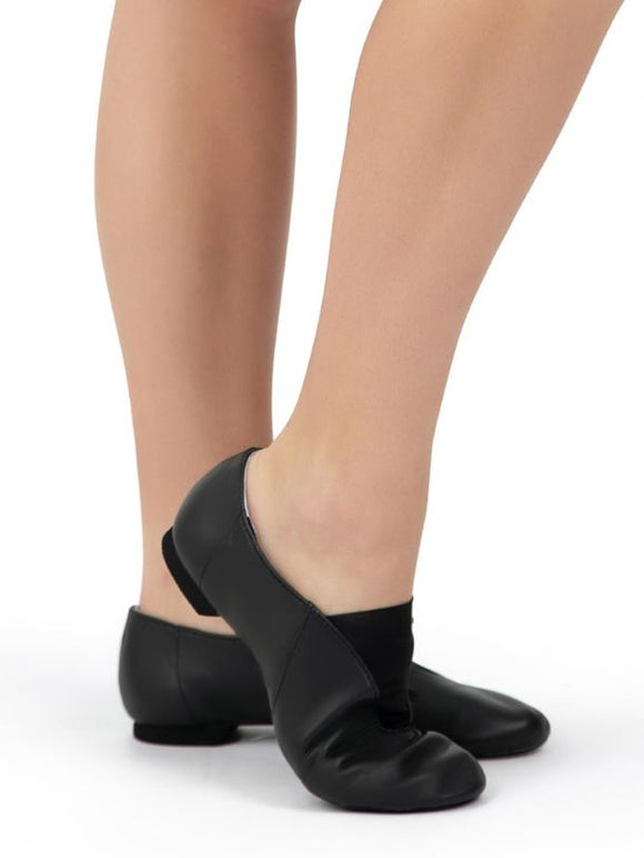 Show Stopper Jazz Shoe Child/Adult BLK - CP05