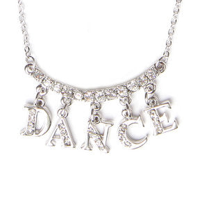 Dance Word Necklace
