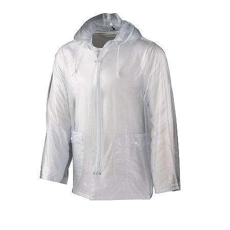 CLEAR RAIN JACKET/RAIN COAT Adult Size