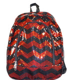 Sequin Chevron Backpack