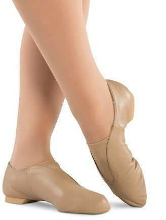 Value Tan Jazz Shoes - Child 9542