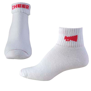 Flip-Down Cheer Socks